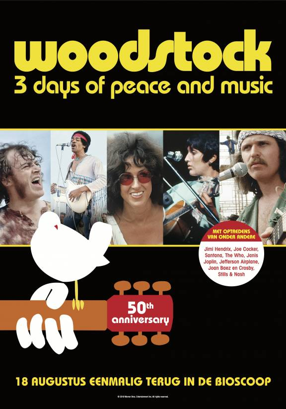 <span>Woodstock (50th Anniversary) 3 DAYS OF PEACE AND MUSIC</span>